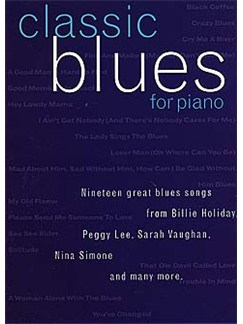 Classic Blues For Piano Books | Piano, Vocal & Guitar (with Chord Boxes)