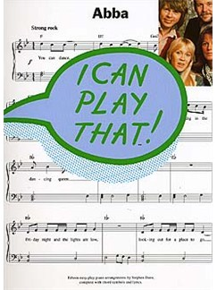 I Can Play That! Abba Books | Piano, Lyrics & Chords