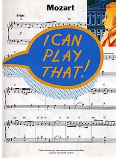 I Can Play That! Mozart Books | Piano (with Chord Symbols)