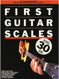 First Guitar Scales Books | Guitar Tab, with guitar chord boxes