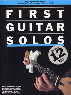 First Guitar Solos Books | Guitar Tab, with guitar chord boxes