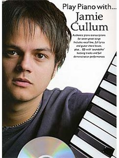 Play Piano With... Jamie Cullum CD et Livre | Piano, Chant et Guitare (Boîtes d'Accord)