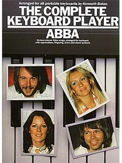 The Complete Keyboard Player: Abba Books   Melody line & lyrics, with chord symbols