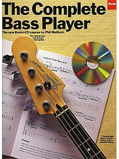 The Complete Bass Player Book 2 Books and CDs | Bass Guitar Tab, with chord symbols