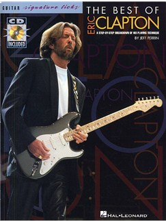 The Best Of Eric Clapton: Signature Licks Books and CDs | Guitar Tab, with chord symbols