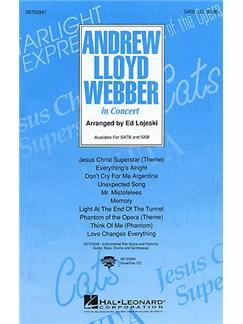 Andrew Lloyd Webber In Concert (SATB) Books | Soprano, Alto, Tenor, Bass, Piano