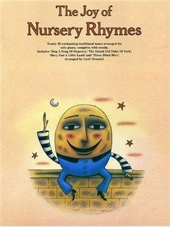 The Joy Of Nursery Rhymes Books | Piano, Vocal & Guitar