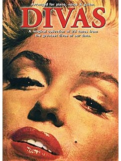 Divas Books | Piano, Vocal & Guitar (with Chord Boxes)