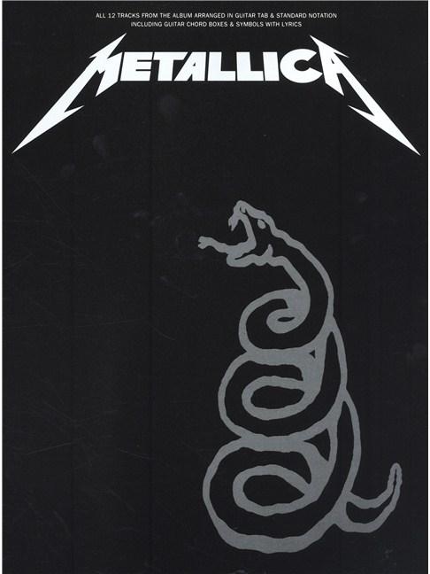 Metallica: The Black Album (TAB) - Guitar Tab Sheet Music - Sheet ...