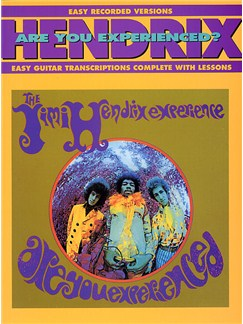Jimi Hendrix: Are You Experienced - Easy Guitar Recorded Versions Books | Guitar Tab, with chord symbols