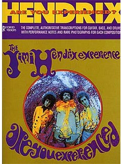 Jimi Hendrix: Are You Experienced (Band Score) Books | Guitar Tab, Bass Guitar Tab, Drums