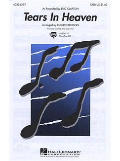 Eric Clapton: Tears In Heaven (SATB/Piano) Books   Soprano, Alto, Tenor, Bass, Piano
