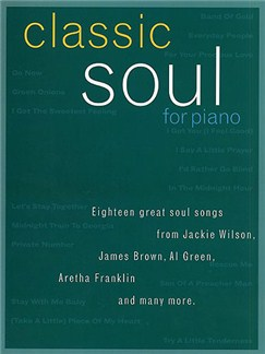 Classic Soul For Piano Books | Piano, Vocal & Guitar (with Chord Boxes)