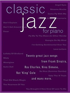 Classic Jazz For Piano Books   Piano, Vocal & Guitar (with Chord Boxes)