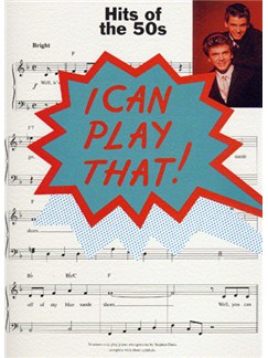 I Can Play That! Hits Of The 50s Books | Piano, Lyrics & Chords