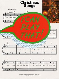 I Can Play That! Christmas Songs Books | Piano, Lyrics & Chords