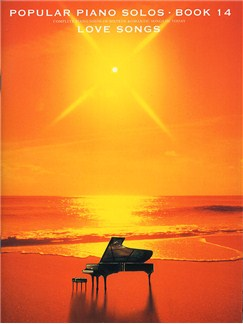 Popular Piano Solos Book 14:  Love Songs Books | Piano & Guitar, with chord symbols