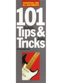 101 Tips And Tricks Books | Guitar, with chord symbols