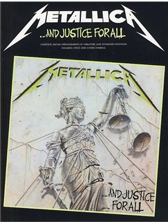 Metallica: ...And Justice For All  Guitar Tab Edition Livre | Tablature Guitare (Symboles d'Accords)