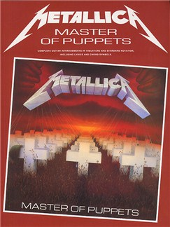 Metallica: Master Of Puppets (Guitar) Books | Guitar Tab, with chord symbols