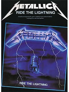 Metallica: Ride The Lightning Guitar (Tab Edition) Livre | Tablature Guitare (Boîtes d'Accord)