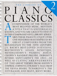 The Library Of Piano Classics Book 2 Books | Piano