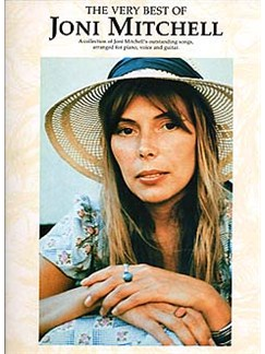 The Very Best Of Joni Mitchell Books | Piano, Vocal & Guitar (with Chord Boxes)