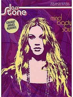 Joss Stone: Mind, Body And Soul Books | Piano, Vocal & Guitar (with Chord Boxes)