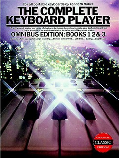 The Complete Keyboard Player: Omnibus Edition 1994 Edition Books | Keyboard, with chord symbols