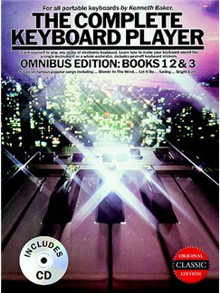 The Complete Keyboard Player: Omnibus Edition 1994 Edition (Book/CD) Books and CDs | Keyboard, with chord symbols