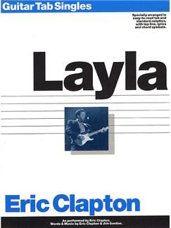 Eric Clapton: Guitar Tab Single: Layla Books | Guitar Tab, with chord symbols