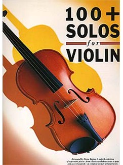 100 + Solos For Violin Books | Violin