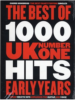 The Best Of 1000 No.1 Hits: The Early Years - Chord Songbook Books | Lyrics & Chords (with Chord Boxes)