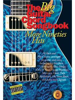 The Big Guitar Chord Songbook: More Nineties Hits Books | Lyrics & Chords