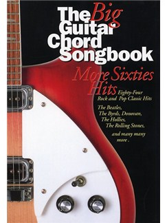 The Big Guitar Chord Songbook: More Sixties Hits Livre | Paroles et Accords (Boîtes d'Accord)