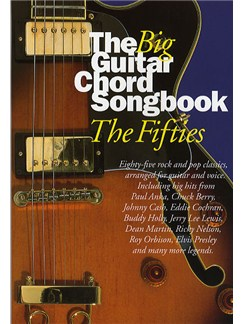 The Big Guitar Chord Songbook: 50s Books | Lyrics & Chords (with Chord Boxes)