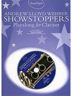 Guest Spot: Andrew Lloyd Webber Showstoppers Playalong For Clarinet Books and CDs | Clarinet