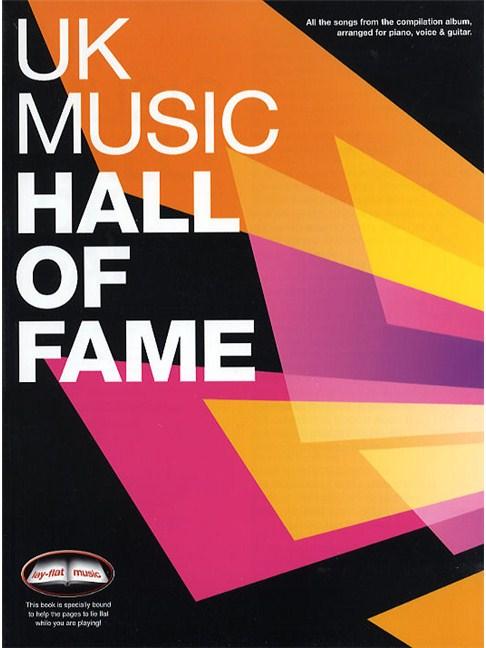 UK Music Hall Of Fame - Piano, Vocal & Guitar Sheet Music - Sheet ...