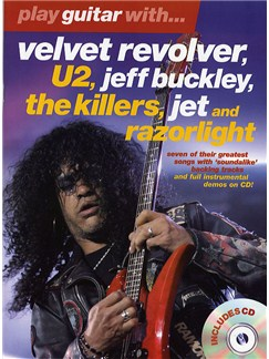 Play Guitar With... Velvet Revolver, U2, Jeff Buckley, The Killers, Jet And Razorlight Books and CDs | Guitar Tab