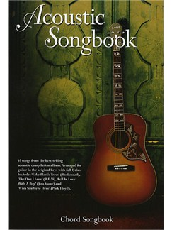 Acoustic Songbook: Chord Songbook Books | Lyrics & Chords (with Chord Boxes)