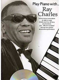 Play Piano With... Ray Charles Books and CDs | Piano, Vocal & Guitar (with Chord Boxes)