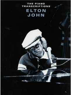 Elton John: The Piano Transcriptions Livre | Piano, Ligne De Mélodie, Paroles et Accords