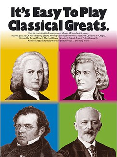 It's Easy To Play: Classical Greats Books | Piano