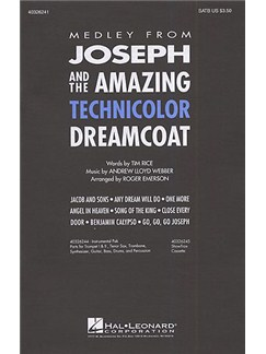 Andrew Lloyd Webber: Joseph And The Amazing Technicolor Dreamcoat Medley (SATB) Books | SATB, Piano Accompaniment