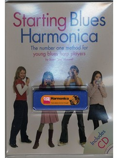 Starting Blues Harmonica Pack Books, CDs and Instruments | Harmonica