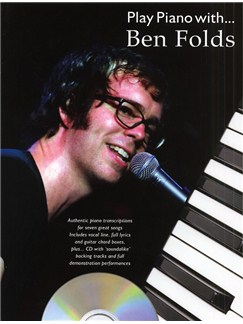 Play Piano With... Ben Folds Books and CDs | Piano, Vocal & Guitar