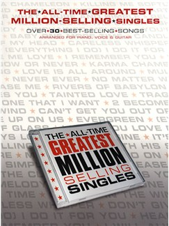The All Time Greatest Million Selling Singles Bog | Klaver, sang og guitar