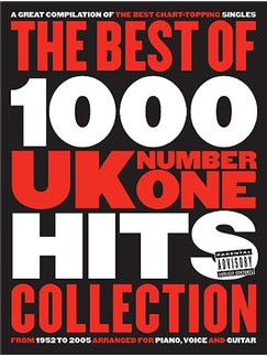 The Best Of 1000 UK No.1 Hits: Slipcase Edition Books | Piano, Vocal & Guitar (with Chord Boxes)