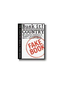 Busk It! Country Fake Book Books | Melody line & lyrics, with chord symbols