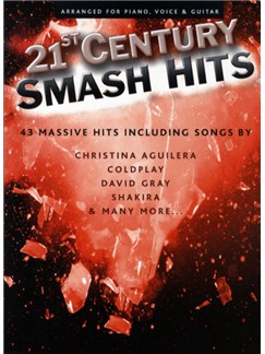 21st Century Smash Hits - Red Book Books | Piano, Vocal & Guitar (with Chord Boxes)